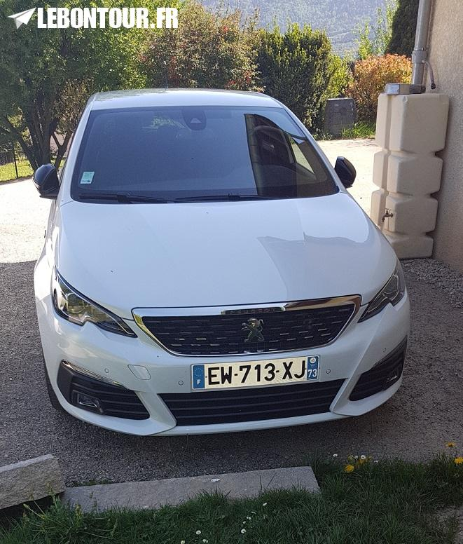 annonce 308 gt line blanche 2018